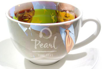 Should the next President drink organic tea?