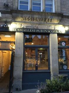 A wee tiny pub