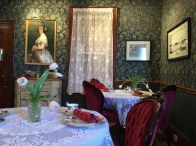 The Jane Austen dining room
