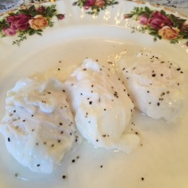 perfectly poached eggs