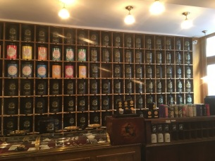 The wall of tea