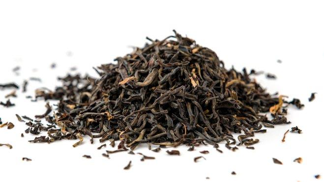 Indian ASSAM golden tips tea isolated